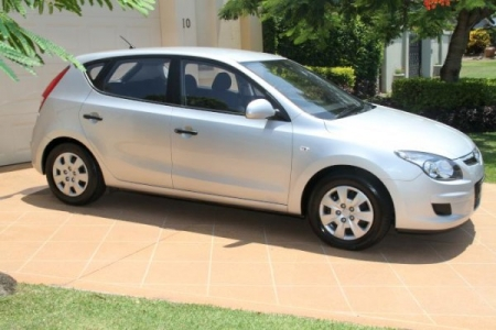 sell my car – hyundai i30 silver