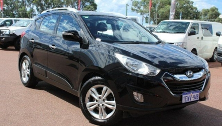 sell my car – hyundai ix35 black