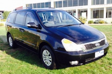 sell my car – kia carnival blue'