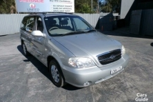 sell my car – kia carnival silver