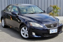 sell my car – lexus is250 black