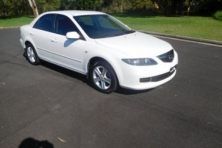 sell my car – mazda 6 white