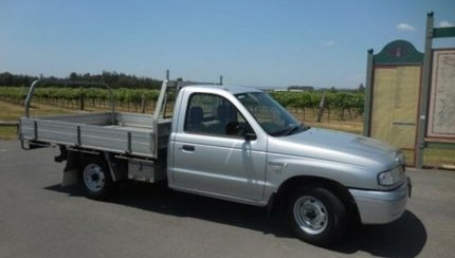 sell my car – mazda bt50 silver