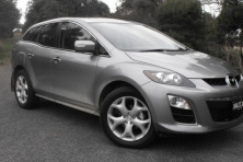 sell my car – mazda cx7 grey