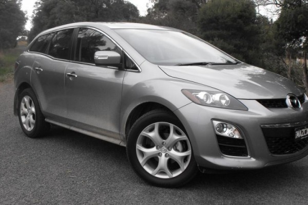 sell my car - mazda cx7 grey