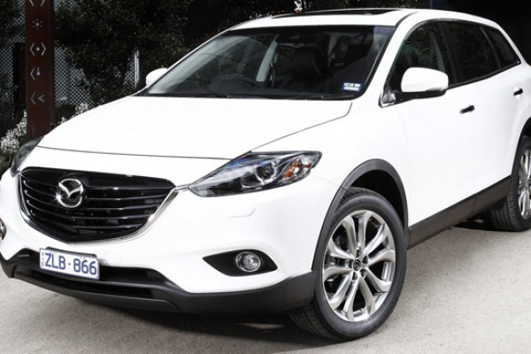 sell my car - mazda cx9 white