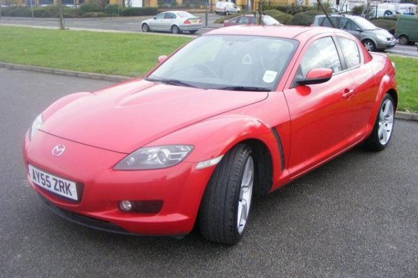 sell my car - mazda rx8 red