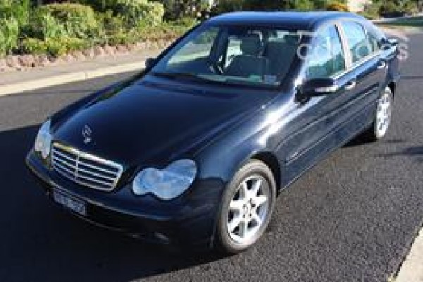 sell my car – mercedes benz blue