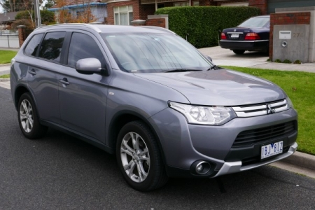 sell my car – mitsubish outlander grey