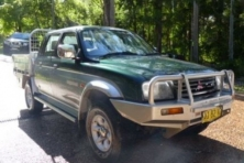 sell my car – mitsubishi triton green