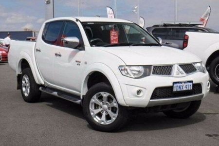 sell my car – mitsubishi triton white