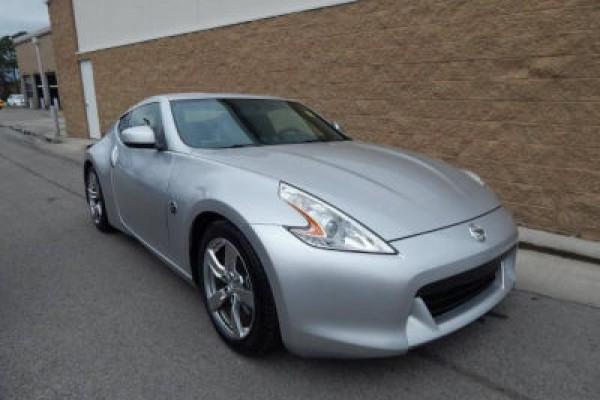 sell my car - nissan 370z silver