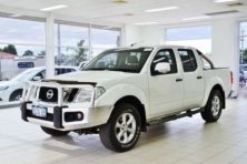 sell my car – nissan navara white