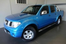 sell my car – nissana navara blue