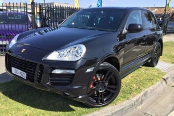 sell my car - porsche cayenne black