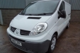 sell my car - renault trafic white