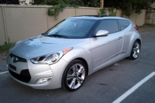 sell my car – silver veloster