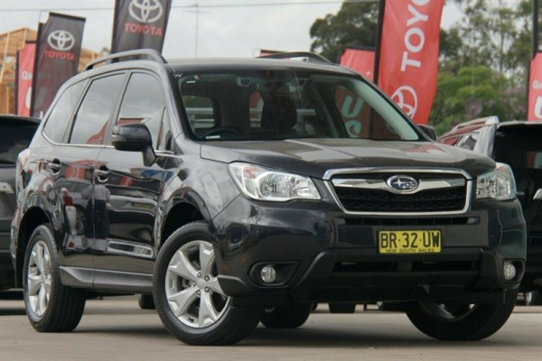 sell my car - subaru forester grey