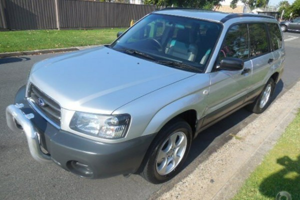 sell my car - subaru forrester