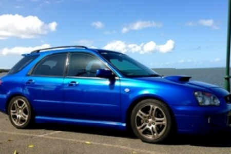 sell my car – subaru impreza blue
