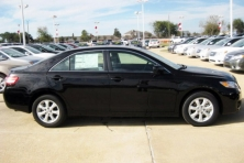 sell my car – toyota camry black