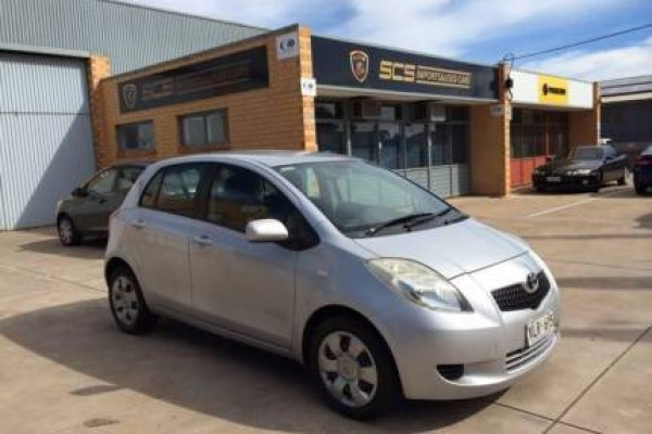 sell my car – toyota yaris silver