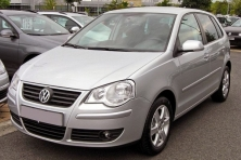 sell my car – volkswagen polo silver
