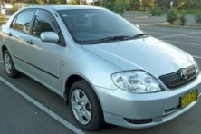 Sell My 2004 Toyota Corolla Ascent Silver