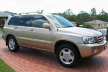 Sell My 2004 Toyota Kluger Grande Gold