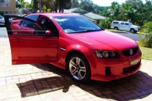 Sell My 2008 Holden Commodore VE Red