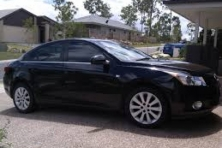 Sell My 2011 Holden Cruze CDX Black