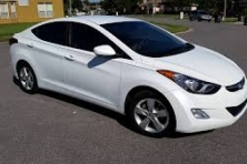 Sell My 2012 Hyundai Elantra White