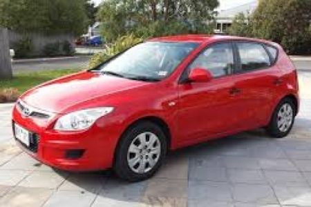 sell my hyundai  I30 hatch red