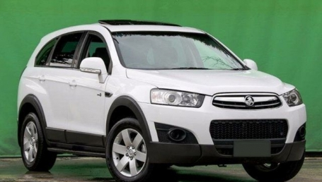 Sell My 2013 Holden Captiva SX White