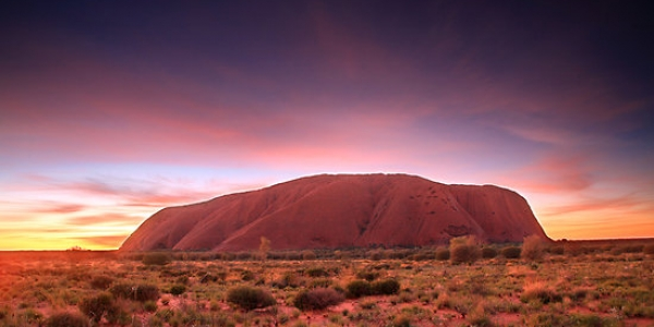selling my car around adelaide uluru at sunrise