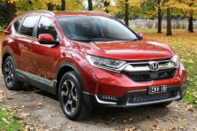 2017 Honda CR-V VTi-LX red front