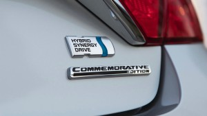 2017 Toyota Camry Commemorative Edition badge